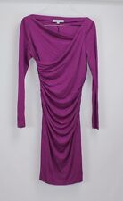 NWT L.K.Bennett Women's Purple Topaz Ariella 2-Way Dress 8 MSRP $293