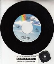 """BING CROSBY I'll Take You Home Again, Kathleen 7"""" 45 record NEW + juke box strip"""