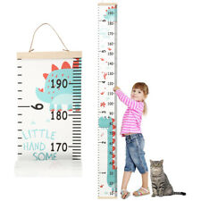 New ListingGrowth Height Chart Measure Ruler Children Room Decor Wall Hanging Wooden Kids
