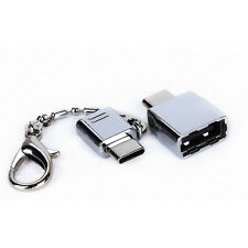 Micro USB 2.0 Buchse auf USB 3.1 Typ C Stecker Konverter USB-C OTG Adapter-Neu