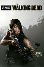 THE WALKING DEAD - DARYL CROSSBOW POSTER - 24x36 REEDUS AMC TV ZOMBIE 3175