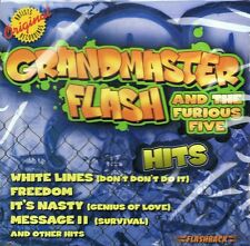 Grandmaster Flash-HITS-CD ALBUM NUOVO-Birthday Party-FLASH to the Beat
