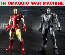 IRON MAN ARMATURA MARK 6 WAR MACHINE COSTUME DA ASSEMBLARE Cosplay REATTORE ARC