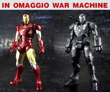 IRON MAN ARMATURA MARK 6 WAR MACHINE COSTUME DA ASSEMBLARE Cosplay REATTORE ARC
