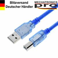 USB 2.0 Kabel B-Stecker (kurz) für Arduino Uno Mega