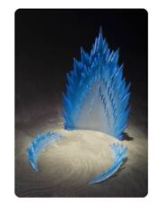 BAN01284 : Bandai Energie Aura Bleu Vérsion Tamashii Figurine Articulée Effet