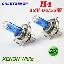 2PCS H4 12V 60/55W Halogen Car 5000K White Headlight Light Bulbs Light Xenon US