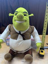 "Hasbro Shrek 2 Ogre Plush Jumbo Stuffed Doll Toy 25"" Tall Dream Works"