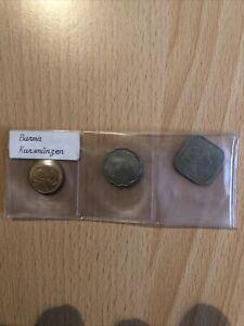 KUrsmünzen  Burma. .