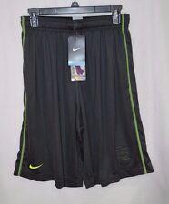 Nike Men's St. Louis Cardinals Authentic Collection Anthracite/Volt Shorts-Sz M