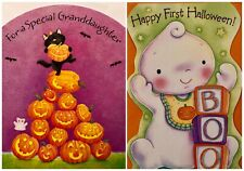 Hallmark AG Granddaughter Baby First Halloween Standing Cards Envelopes Choose