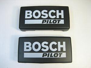 NOS New Bosch Pilot Fog Light Cover Set Vintage Volvo 240 Saab VW BMW Ford RARE