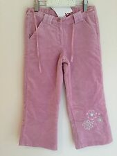 BNWT - Chicco  4 years girls Trousers Pink Velvet, lined super warm Italian made