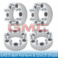 "2"" GMC 6 Lug Wheel Spacers 6x5.5 6x139.7 Fits For Canyon 2004 - 2012"