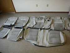 2012 TOYOTA CAMRY FACTORY LEATHER W/ SUEDE SEATS UPHOLSTERY KIT SET NEW  #1