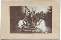Auf Stelzen, Orig.-Photo von 1899