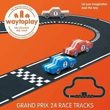 Waytoplay 8719327075708 starterset Grand Prix, 24 Pieces, Black with White St...