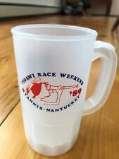 Figawi 1989 Sailing Race Plastic Mug. Hyannis-Nantucket