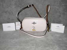 COACH Crossbody Purse~Disney Mickey Mouse~White/Chalk Leather~NWT~Free Shipping