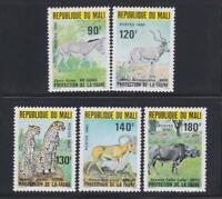 AK138 -  ANIMAL KINGDOM STAMPS MALI 1980 ANIMAL PROTECTION  MNH