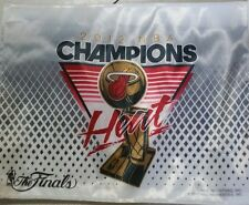Miami Heat 2013 NBA Champions Car Flag Double sided the finals