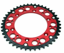 REAR HYBRID SPROCKET 52T FOR HONDA CR 125R 250R 500R CRF 250R 250X 450R 450X RED