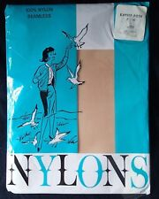 Nylon Seamless Stockings Kayser Roth Peige Nylons Riegal Paper Corp 1963