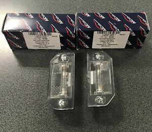 VW Passat B5 96-00 rear Licence Plate Light Bulb Left Right 3B0943021 2PCs