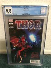 Thor #5 CGC 9.8 White pages 1st App Black Winter