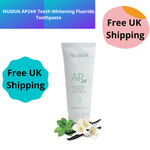 100% Original Nu Skin AP24® Teeth Whitening Fluoride Toothpaste 110g New Look UK