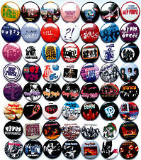 DEEP PURPLE Button Badges Pins Black Night In Rock Lot of 56 + 2 free badges