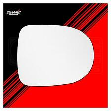 Heated Back Plate Replacement Mirror Glass - Summit SRG-237BH - Fits Renault