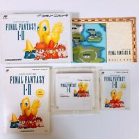 FINAL FANTASY 1 2 I II with Box and Manual Famicom Japan games FC NES