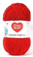 1 Count Red Heart 10.5 Oz Sweet Home Merlot 6 Super Bulky Polyester Yarn