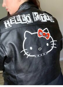 Hello Kitty Dolls Kill Rebel Moto Jacket Size 1X Women's New with Tags
