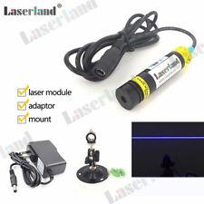 1668 445nm 450nm Blue 80mW Line Generator Diode Laser Module Focusable Lens