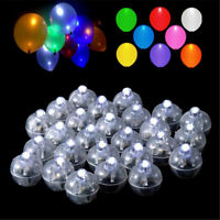 50Pcs Mini LED Ball Lamp Light Ballo per Lanterna Wedding Party Fata Decor