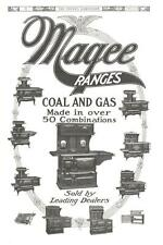 Magee Ranges  -  Coal and Gas   -  Original Advertisement  -  1909