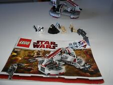 LEGO Star Wars 8091-Republic Swamp Speeder. Completo. No box