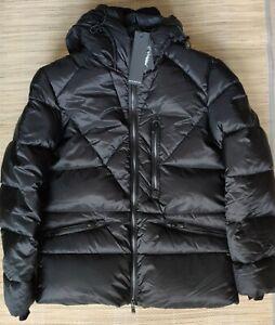 Gazzarrini men's hooded jacket size L - down, slim fit, Designed in Italy