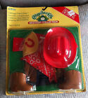 VINTAGE ORIGINAL COLECO CABBAGE PATCH KIDS WESTERN OUTFIT NEW IN PACKAGE