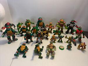 TMNT Action Figure Lot Teenage Mutant Ninja Turtles 🐢