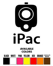 iPac Gun Vinyl Decal Sticker Truck/Car/ipad laptop 2nd amendment