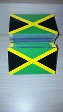 """The Original Flag Magnet - Jamaica Car Flag Magnet *35 Mil! 3""""x2"""""""