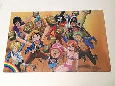 """One Piece - Straw Hat Crew Party - Playmat!  New! 15.5"""" x 23.5"""""""