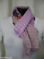 "TRANSAT BOUTIQUE CHECHE FOULARD ECHARPE ""MADE IN SENS"" PARME COLORE-PRIX PROMO!"