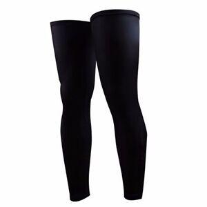 1Pair Bicycle Cycling Running UV Protection Leg Warmers Elastic Leg Sleeves NEW