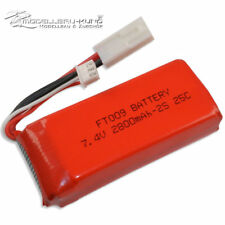 FT009 Lipo Akku 2800mAh 2S 7.4V 25C Feilun Boot FT009 Mini Tamiya