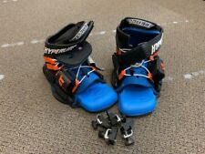 Hyperlite Split Wakeboard Wake Board Bindings opened Toe Boots X-large