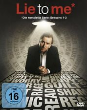 14 DVD-Box ° Lie to me ° Superbox komplett ° NEU & OVP ° Staffel 1 - 3